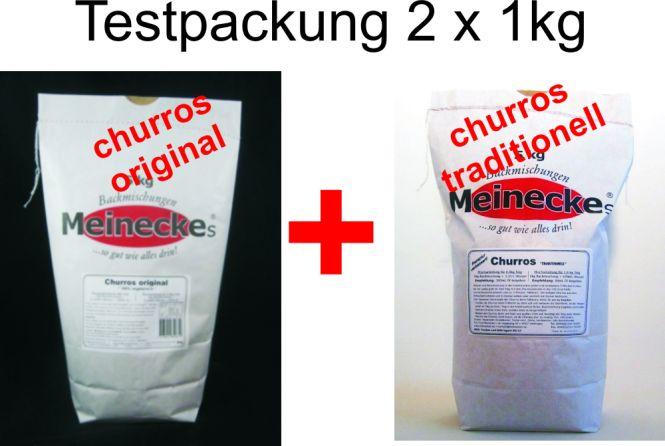 Churros-XXL + Original = Testbackmischung 2kg