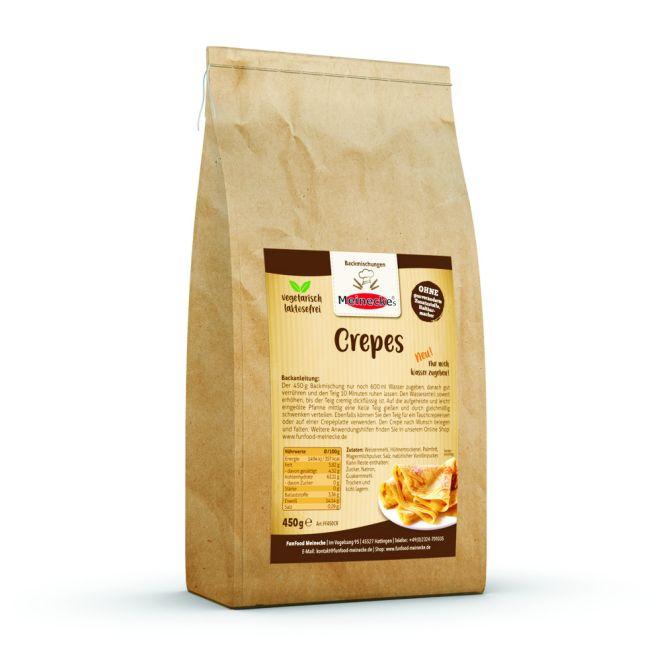 Crepe Backmischung (lactosefrei) 450Gramm