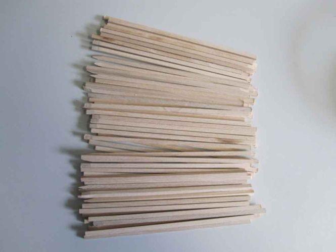Holzstiele für Waffel am Stiel S=4mm