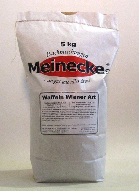 Waffel-Backmischung Wiener Art 5Kg laktosefrei